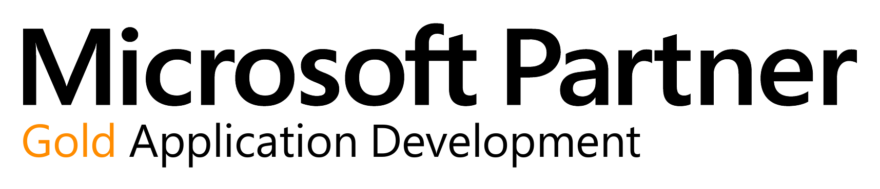 Microsoft Partner - Gold Application Development